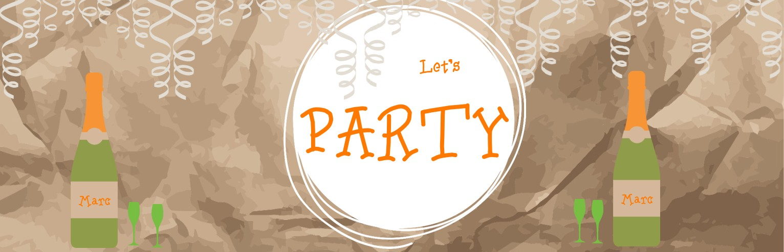 Let's Party banner